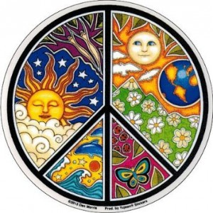 Dan Morris – Peace – Window Sticker